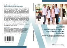 Buchcover von Verbraucheranalyse in sozialökonomischen Betrieben
