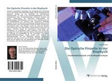Portada del libro de Die Optische Pinzette in der Biophysik