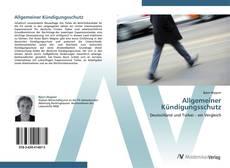 Buchcover von Allgemeiner Kündigungsschutz
