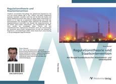 Bookcover of Regulationstheorie und Staatsintervention