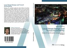 Bookcover of Local Street Design and Transit Accessibility