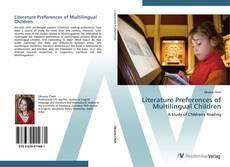 Copertina di Literature Preferences of Multilingual Children