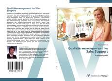 Copertina di Qualitätsmanagement im Sales Support