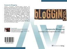 Capa do livro de Corporate Blogging