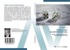 Buchcover von Risiken des Geschäftsbetriebs