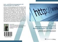 Bookcover of Lern- und Wissensmanagement mit Anwendungen von Web 2.0