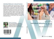 Copertina di Individual Behavior in Social Context