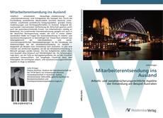 Bookcover of Mitarbeiterentsendung ins Ausland