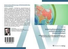Capa do livro de Internationalisierung mittelständischer Unternehmen