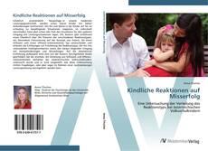 Buchcover von Kindliche Reaktionen auf Misserfolg