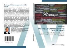 Buchcover von Datenqualitätsmanagement mit Six Sigma