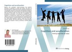 Bookcover of Cognition and acculturation