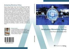 Couverture de Analyzing Monetary Policy