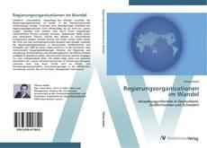 Couverture de Regierungsorganisationen im Wandel