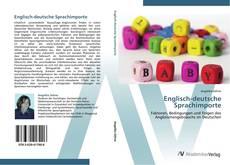 Bookcover of Englisch-deutsche Sprachimporte