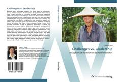 Bookcover of Challenges vs. Leadership