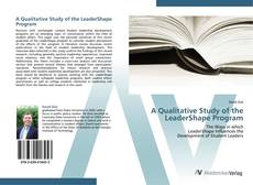 Copertina di A Qualitative Study of the LeaderShape Program