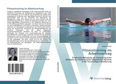Capa do livro de Fitnesstraining im Arbeitsvertrag