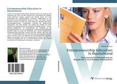 Bookcover of Entrepreneurship Education in Deutschland
