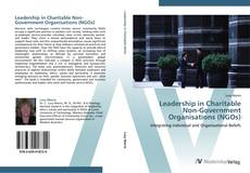 Capa do livro de Leadership in Charitable Non-Government Organisations (NGOs)