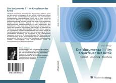 Bookcover of Die 'documenta 11' im Kreuzfeuer der Kritik