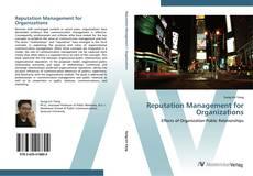 Portada del libro de Reputation Management for Organizations