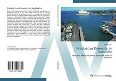 Bookcover of Productive Diversity in Australia