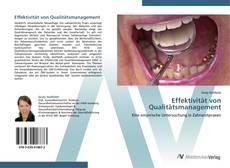Bookcover of Effektivität von Qualitätsmanagement