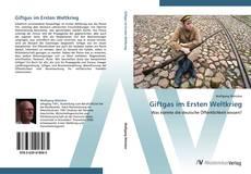 Capa do livro de Giftgas im Ersten Weltkrieg