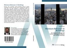 Buchcover von Moisture Behavior in Buildings