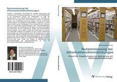 Bookcover of Nutzenmessung bei Informationsdienstleistungen