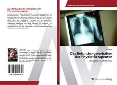 Buchcover von Das Befundungsverhalten der Physiotherapeuten