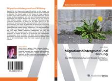 Borítókép a  Migrationshintergrund und Bildung - hoz