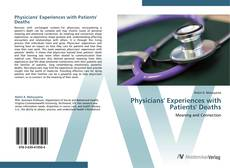 Bookcover of Physicians' Experiences with Patients' Deaths