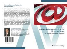 Buchcover von Interne Kommunikation im Unternehmen