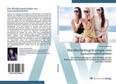 Buchcover von Die Marketingstrategie von Luxusmodemarken