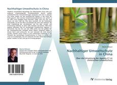 Borítókép a  Nachhaltiger Umweltschutz in China - hoz