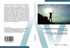 Buchcover von Persönlichkeitscoaching für Lehrkräfte