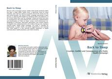 Bookcover of Back to Sleep