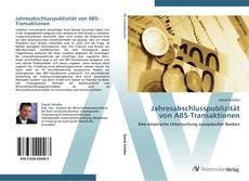 Bookcover of Jahresabschlusspublizität von ABS-Transaktionen