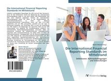 Обложка Die International Financial Reporting Standards im Mittelstand