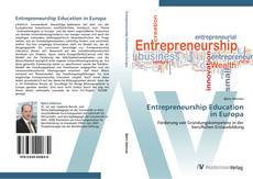 Buchcover von Entrepreneurship Education in Europa