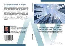 Bookcover of Variantenmanagement im Anlagen- und Maschinenbau