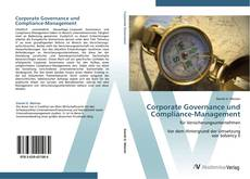 Bookcover of Corporate Governance und Compliance-Management