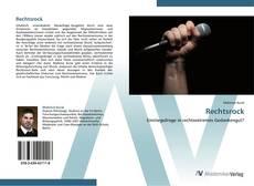 Bookcover of Rechtsrock
