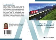 Bookcover of Mehrdimensionale Lieferantenbewertung