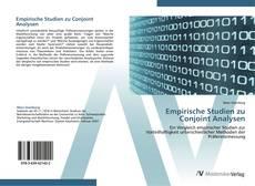 Bookcover of Empirische Studien zu Conjoint Analysen