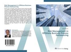 Buchcover von Risk Management in Offshore Business Process Outsourcing
