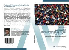 Buchcover von Automobil-Handelsmarketing für das Tuning-Geschäft