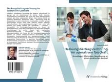 Borítókép a  Deckungsbeitragsrechnung im operativen Geschäft - hoz